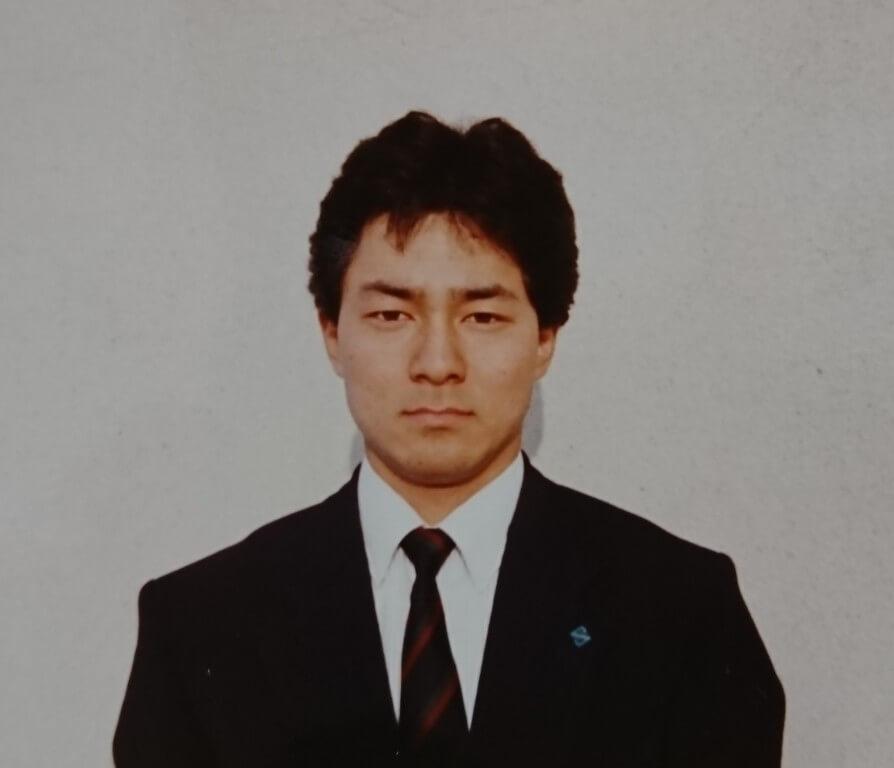 藤江彰就職時の画像